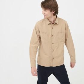 AIGLE メンズ メンズ 撥水 アウターシャツ ZCH042J ベリーベージュ (133) シャツ・ポロシャツ