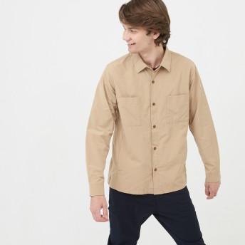 AIGLE メンズ ベリーベージュ (133) シャツ・ポロシャツ