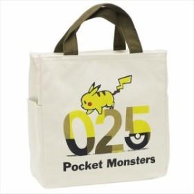 ポケットモンスター 保冷ランチバッグ 天ファスナー付きスクエア保冷バッグ ピカチュウ 025 ポケモン キャラクターグッズ通販