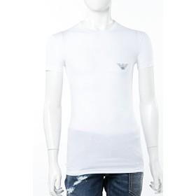 (エンポリオアルマーニ) Emporio Armani Tシャツ アンダーウェア ホワイト メンズ (111035 CC716) 【並行輸入品】【M-ホワイト】
