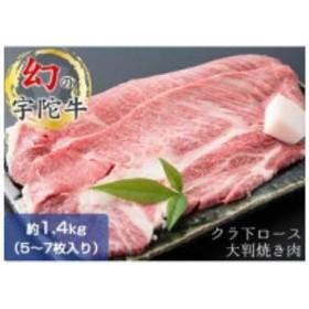 (チルド)宇陀牛 黒毛和牛 クラシタ ロース 大判焼肉用 約1.3kg