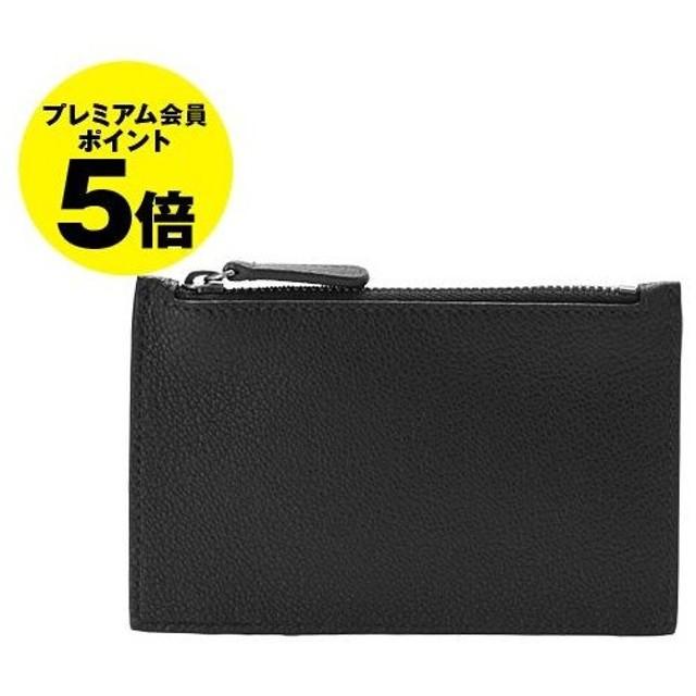ジョルジオアルマーニ GIORGIO ARMANI 財布 メンズ カードケース/コインケース ブラック 黒 CARD HOLDER Y2R395 YEM4J 80001 BLACK