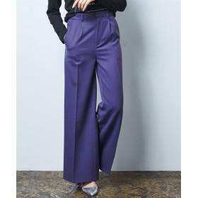 ストレッチキレイ見えワイドパンツ (レディースパンツ),pants