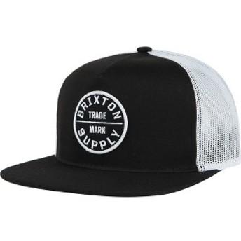 ブリクストン メンズ 帽子 アクセサリー Oath III Trucker Hat - Men's Black
