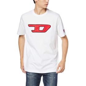 (ディーゼル) DIESEL メンズ Tシャツ パッチデザイン 00SY7A0CATJ S ホワイト 100