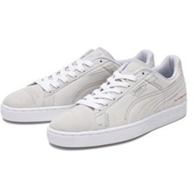 【ABC-MART:シューズ】369614 SUEDE CLASSIC PATTERN MASTER 01WH/HIGH RISE/ 592665-0001