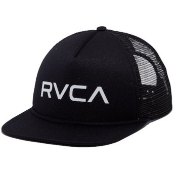 RVCA Foamy Trucker Hat Cap Black キャップ 並行輸入品