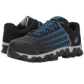Timberland PRO(ティンバーランド) メンズ 男性用 シューズ 靴 スニーカー 運動靴 Powertrain Sport Alloy Safety Toe EH - Black/Blue Ripstop Nylon 10 D - Medium [並行輸入品]