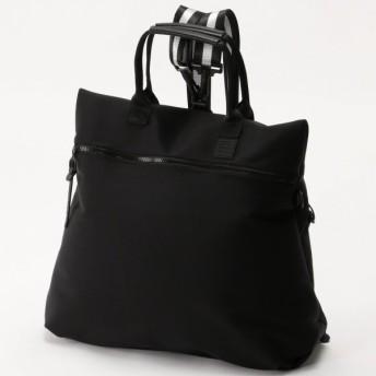 バッグ カバン 鞄 レディース リュック ネオプレーン3WAYリュック カラー 「ブラック」