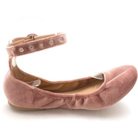 Material Girl Womens Francy1 Ballet Flats, Pink, Size 7.5