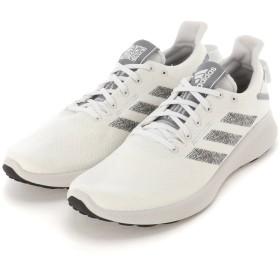 adidas men's SenseBOUNCE + STREET M スニーカー,ランニングホワイト/コアブラック/グレースリーF17