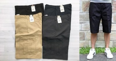 【HOMIEZ】DICKIES LR542 Cargo Shorts【LR542】口袋短褲 工作短褲
