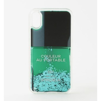 【ラブレス/LOVELESS】 【IPHORIA】iPhoneケース(iPhoneX/XS対応)-Nail Polish Turquoise-15197