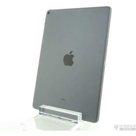 〔中古〕Apple(アップル) 〔展示品〕 iPad Air 第3世代 256GB スペースグレイ MUUQ2J/A Wi-Fi