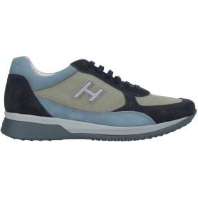 《期間限定セール開催中!》HOGAN メンズ スニーカー&テニスシューズ(ローカット) ブルー 5.5 革 / 紡績繊維