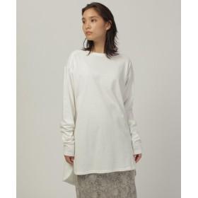 C4 OZOC(シーフォーオゾック) オーガニックシンプルロングTシャツ