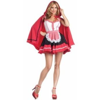 赤ずきん(ロマンチックフード) 大人用 仮装 衣装 コスプレ ハロウィン 余興 大人 童話 赤ずきん 女性用