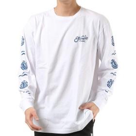 ELEMENT エレメント メンズ 長袖 Tシャツ AJ021-050 WHT XL