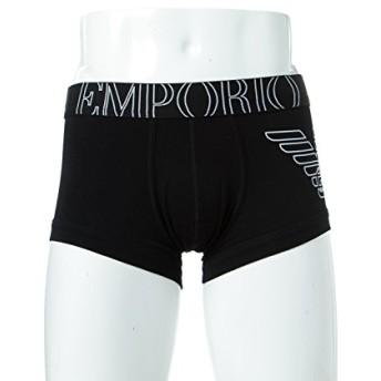 (エンポリオアルマーニ) Emporio Armani ボクサーパンツ 下着 アンダーウェア メンズ (111866 CC735) ブラック 【並行輸入品】【M-ブラック】