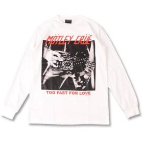 (ファーストライン) FIRST-LINE (W) モトリークルー MOTLEY CRUE 1 L/S(長袖)/長袖Tシャツ メンズ レディース M ホワイト