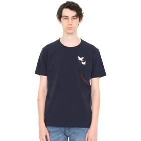 (グラニフ) graniph Tシャツ シーガルキャリング (ネイビー) メンズ レディース SS (g01) (g14)
