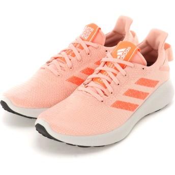 adidas women's adidas アディダス ウィメンズ SenseBOUNCE + STREET W スニーカー スニーカー,グローピンク/ハイレゾコーラル /グローオレンジ
