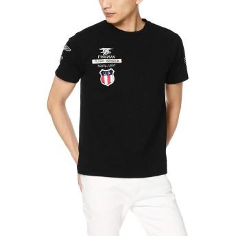 [アヴィレックス] Tシャツ NAVAL UNIT WAPPEN TEE 6193404 メンズ 09BLACK 日本 2XL (日本サイズ2L相当)