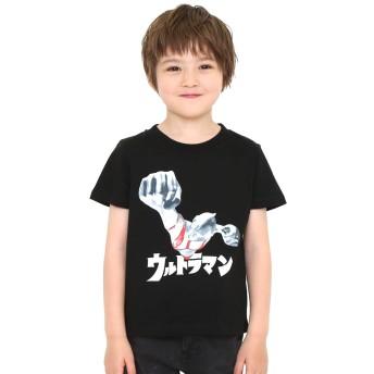 (グラニフ) graniph コラボレーション キッズ Tシャツ ウルトラマン (ウルトラマン) (ブラック) キッズ 90 (g28) #おそろいコーデ