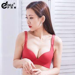 任-【伊黛爾】歐式夢幻美胸按摩推脂無鋼圈胸罩