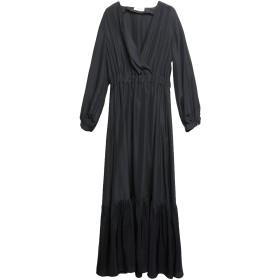 《期間限定 セール開催中》VICOLO レディース ロングワンピース&ドレス ブラック M ポリエステル 100%