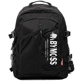 [バイモス]BYMOSS シグネチャ 1シリーズ(Signature Backpack 1Series) (ブラック)