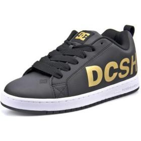 DC SHOE ディーシーシュー COURT GRAFFIK SE メンズスニーカー(コートグラフィックSE) DM194033 201 ブラック/ゴールド ローカット