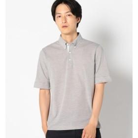 【シップス/SHIPS】 SC: COOLMAX(R) コットン/リネン カノコ ボタンダウン ポロシャツ