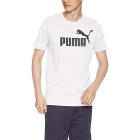 [プーマ] トレーニングウェア ESS ロゴ 半袖 Tシャツ 851740 [メンズ] プーマ ホワイト (02) 日本 S (日本サイズS相当)