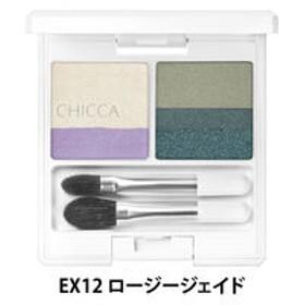 CHICCA(キッカ)フローレスグロウ リッドテクスチャー アイシャドウ EX12(ロージージェイド) Kanebo(カネボウ)