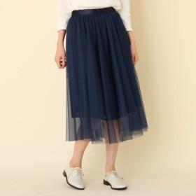 [マルイ] 【手洗い可】レスチュルフレアスカート/クチュールブローチ(Couture Brooch)