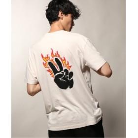 (JOURNAL STANDARD/ジャーナルスタンダード)GLOBE/グローブ VAPE Tシャツ/メンズ ナチュラル 送料無料