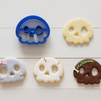 ドクロクッキー型・クッキーカッター