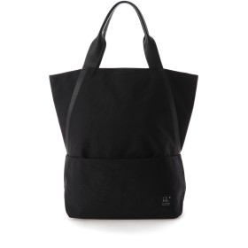 UN METRE PRODUCTIONS Two Line Tote Bag トートバッグ,ブラック