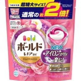 ボールド 洗濯洗剤 ジェルボール3Dプレミアムブロッサムの香り 詰め替え 超特大(34コ入)
