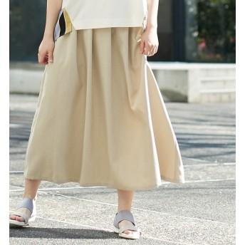 【アルカリ/alcali】 【WEB限定】alcali/ギャザーロングスカート
