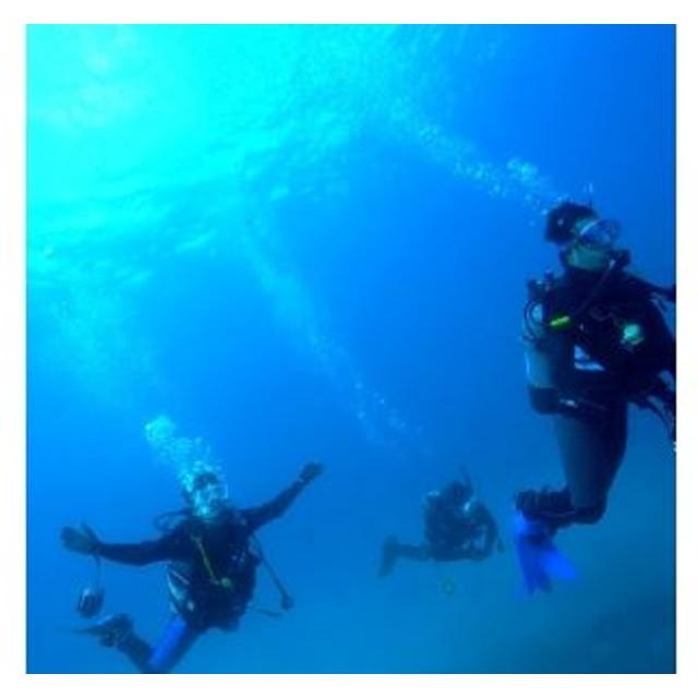 ビーチ体験ダイビング+初めての方のSUPクルージング(1名様分) 海底少年