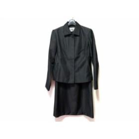 ミッシェルクラン MICHELKLEIN ワンピーススーツ サイズ38 M レディース 黒【中古】20190710