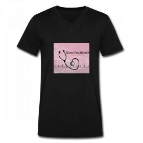 トップス RNナースプラクティショナー Men V Neck T-Shirts メンズ Tシャツ