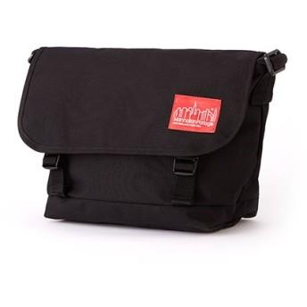 マンハッタン ポーテージ Buckle NY Messenger Bag JR ユニセックス Black M 【Manhattan Portage】