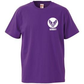 古希祝い【ミリタリー】 【紫T】【XL】【左胸】/A24/ PRIME