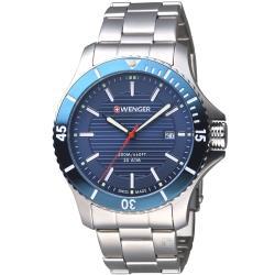 WENGER Seaforce 征服怒海潛水腕錶   01.0641.120 瑞士潛水錶