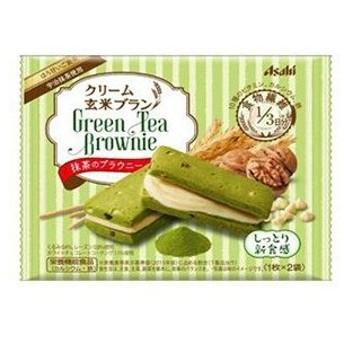 【訳あり 特価】 賞味期限:2020年2月29日 バランスアップ クリーム玄米ブラン 抹茶のブラウニー (70g) 栄養機能食品