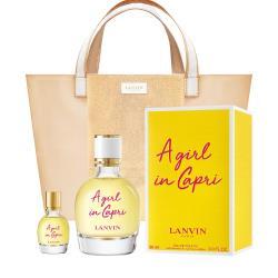 LANVIN 卡布里風情女性淡香水90ml(贈托特包+隨機小香乙瓶)