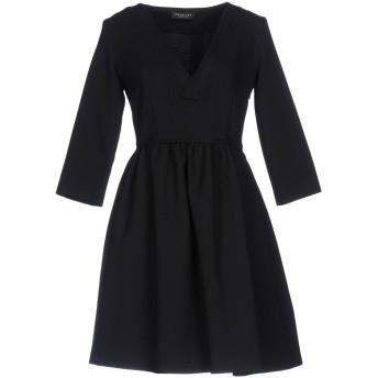 《セール開催中》TWINSET レディース ミニワンピース&ドレス ブラック S 100% ポリエステル